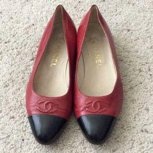 CHANEL Shoes - Vintage Chanel ballet flats. 36.